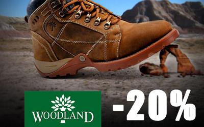 Woodland и WOODS by WOODLAND – месяц скидок!