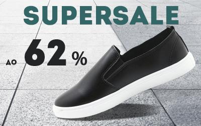 СУПЕР РАСПРОДАЖА: скидки до 62% на обувь casual