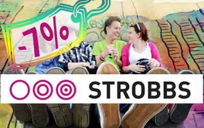 Дарим 7% на кроссовки, кеды, слипоны и ботинки Strobbs для всей семьи!
