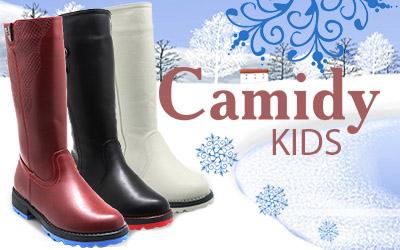 Camidy: зимняя и демисезонная коллекции детской обуви