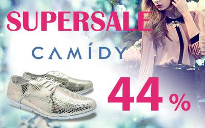 Летняя обувь Camidy: supersale со скидкой 44%!