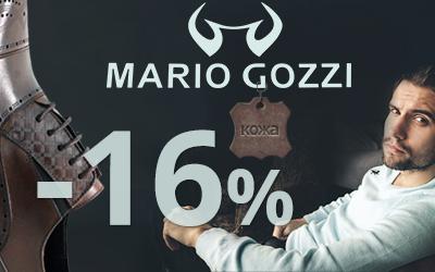 MARIO GOZZI: мужская кожаная обувь по выгодным ценам