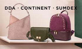На все случаи жизни! Новинки сумок и рюкзаков: DDA, Continent, Sumdex