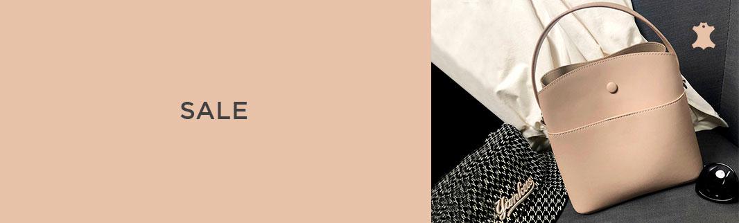 ВАУ-новинки: кожаные сумки ESSARLIL со скидками