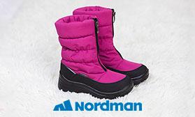 Новое имя в каталоге детской обуви: NORDMAN