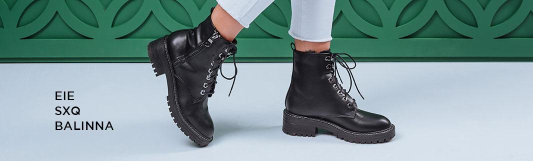 Обновляются коллекции зимней обуви: EIE, SXQ и BALINNA