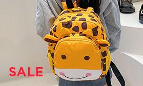 Вы ждали этого - скидка 5% на яркие модели рюкзаков и сумок для детей