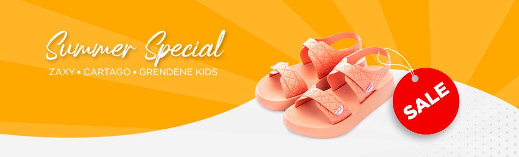 «ZAXY», «CARTAGO», «Grendene kids»: летняя обувь для всей семьи!
